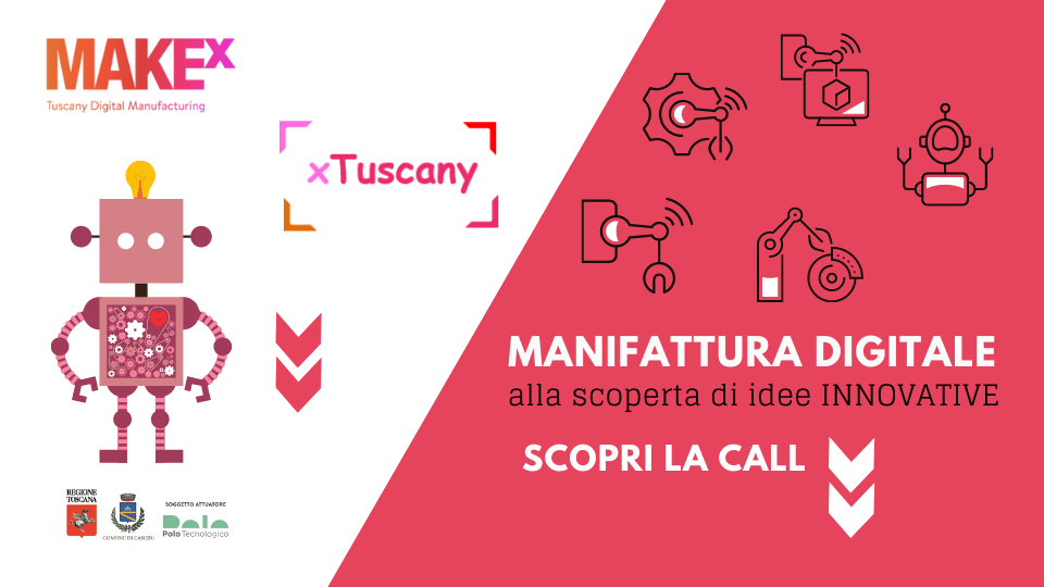 Call makeX idee innovative xTuscany