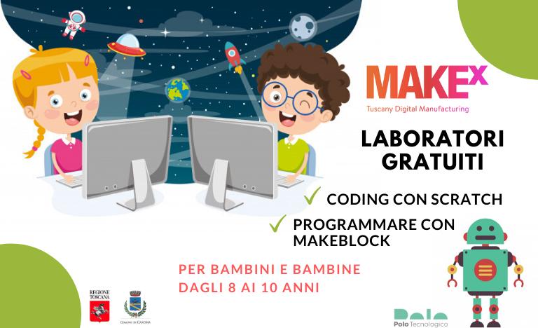 Laboratori gratuiti di coding per bambini